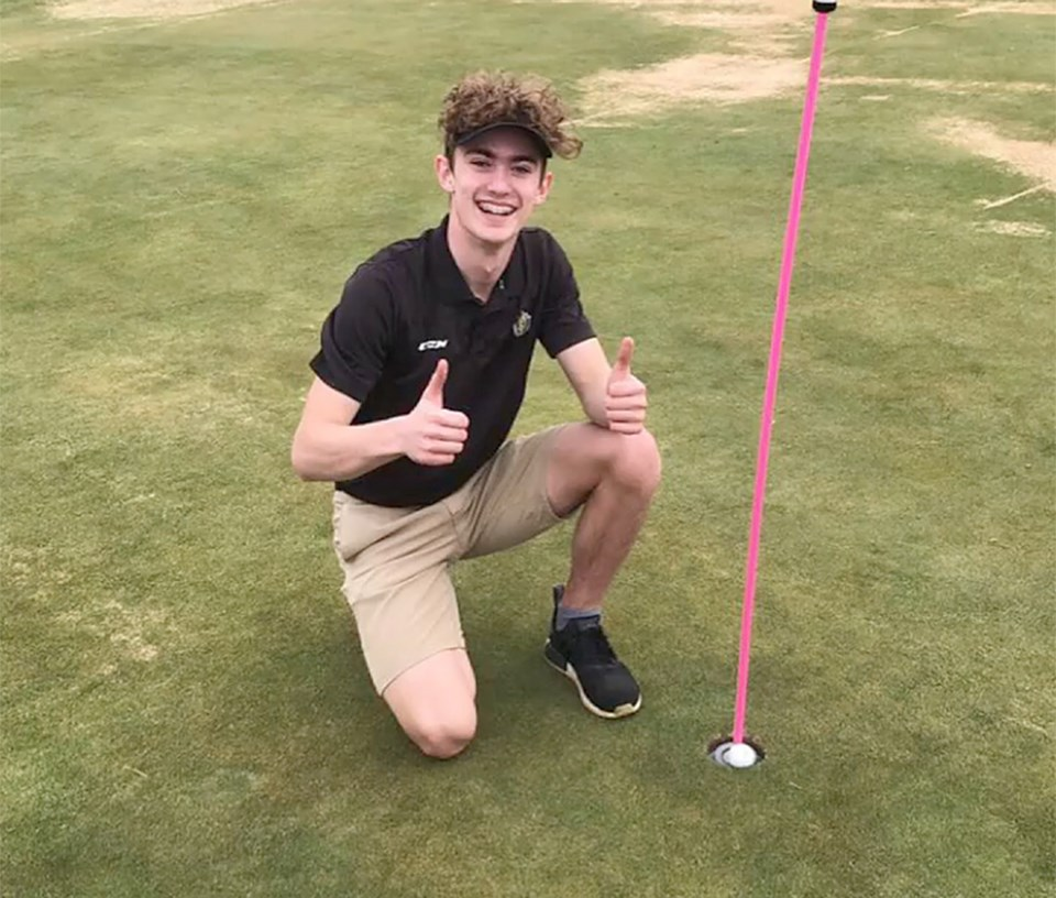 Peterson hole in one