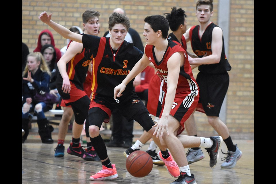 Kyle Boughen, Riley Seaborn, Ethan Johnson and the rest of the Central Cyclones will be gunning for 4A boys Hoopla gold Saturday afternoon.