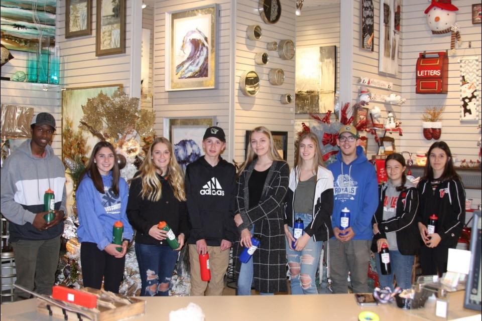 Saskatchewan High Schools Athletic Association Athletes of the Month.