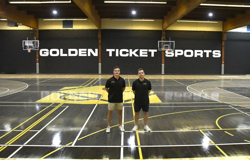 Golden Ticket Sports first opening