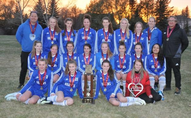 Swift Current girls soccer champs