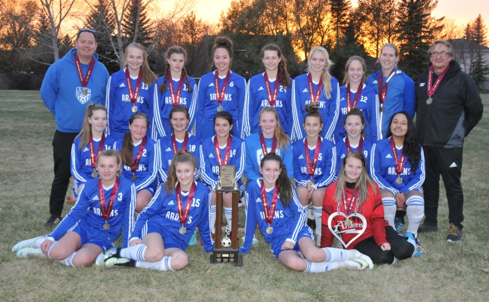 Swift Current girls soccer champs