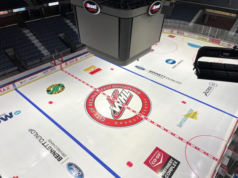 Regina hub ice