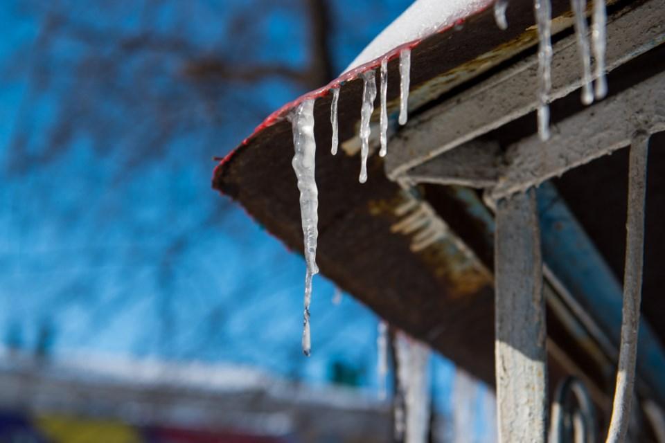 melting icicle