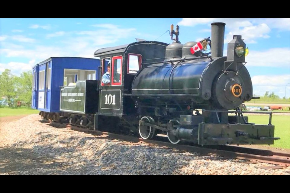 The next Coffee Club is on March 25 and will hear about the Vulcan steam-powered locomotive. Photo courtesy WDM