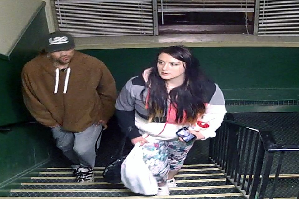 Kayla Jackson, 23, of Red Deer has been identified as the woman in the CCTV footage at the Innisfail Hotel during the early morning hours of Nov. 24. She faces several charges. Photo courtesy of Innisfail RCMP