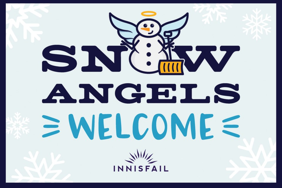 INN Snow Angels Sign