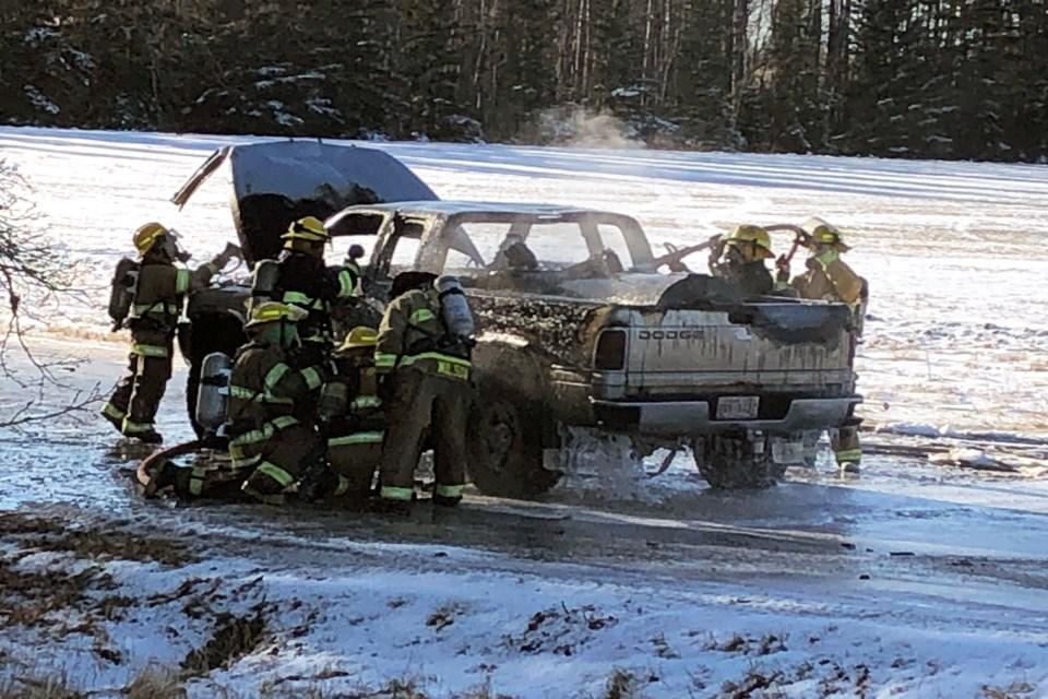 L Penhold vehicle fire