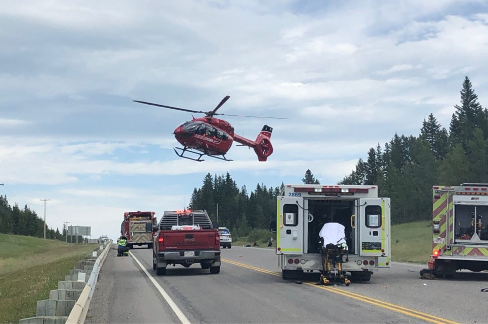 motorist airlifted for web