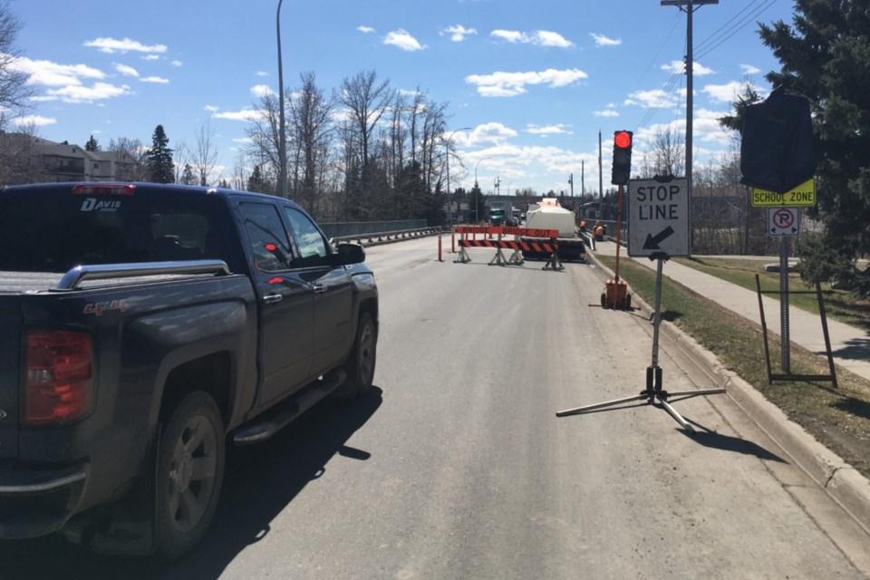 MVA Centre Street Bridge repairs