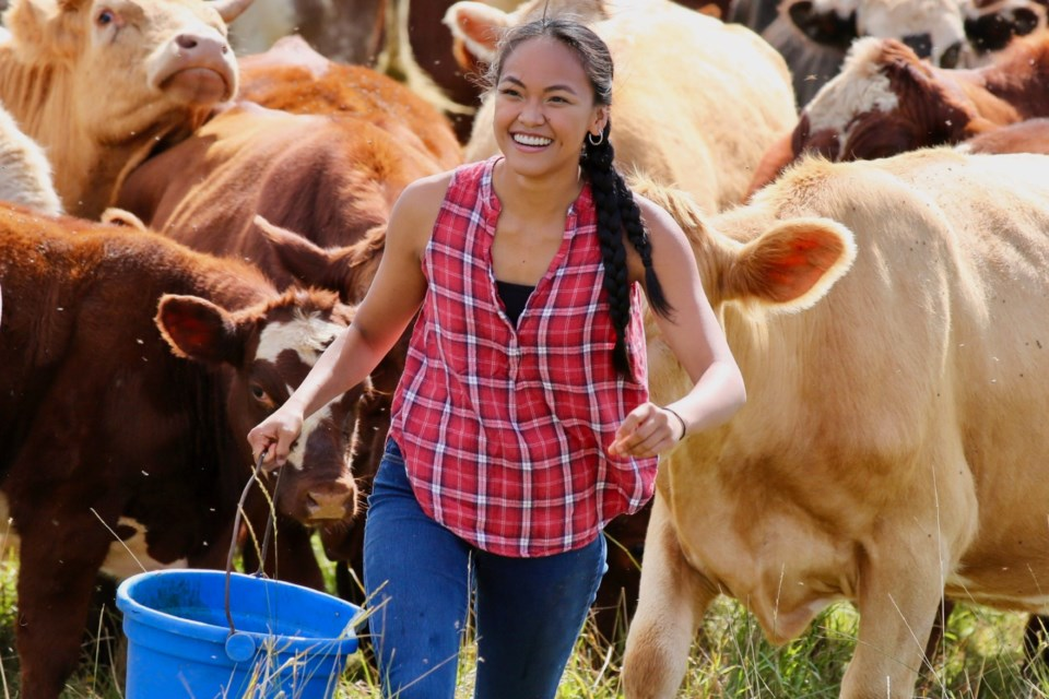 Although born in Manila, the capital of the Philippines, Gizelle de Guzman, who was 12 when she moved to Canada, throughout her formative adolescent years developed a fondness for Cremona, which she now considers home. Her experience of leaving to study out east in Nova Scotia inspired her latest release, called Almost Home.  Photo courtesy of William Power
