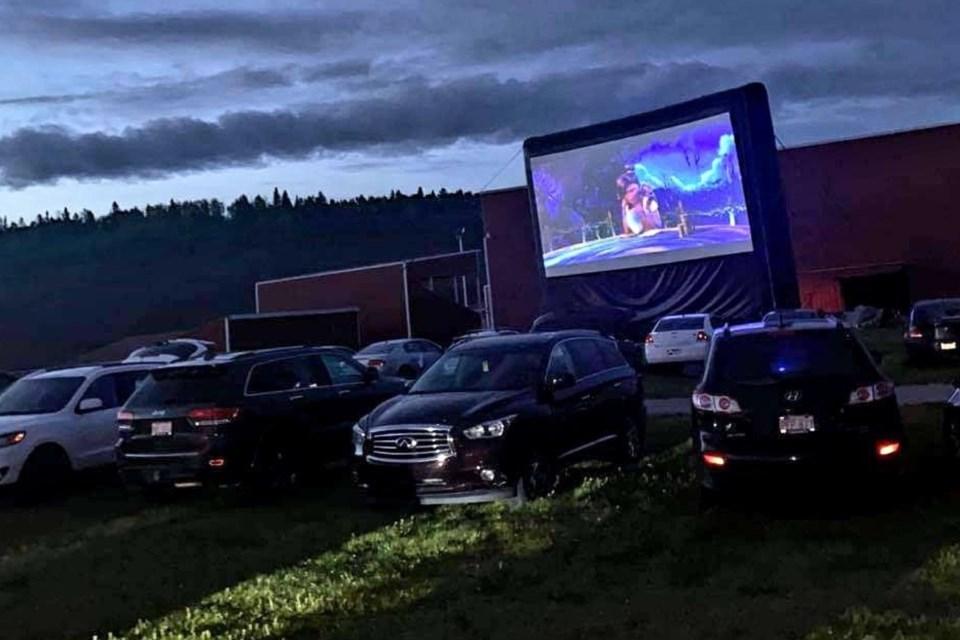 MVA GNP drive-in movie