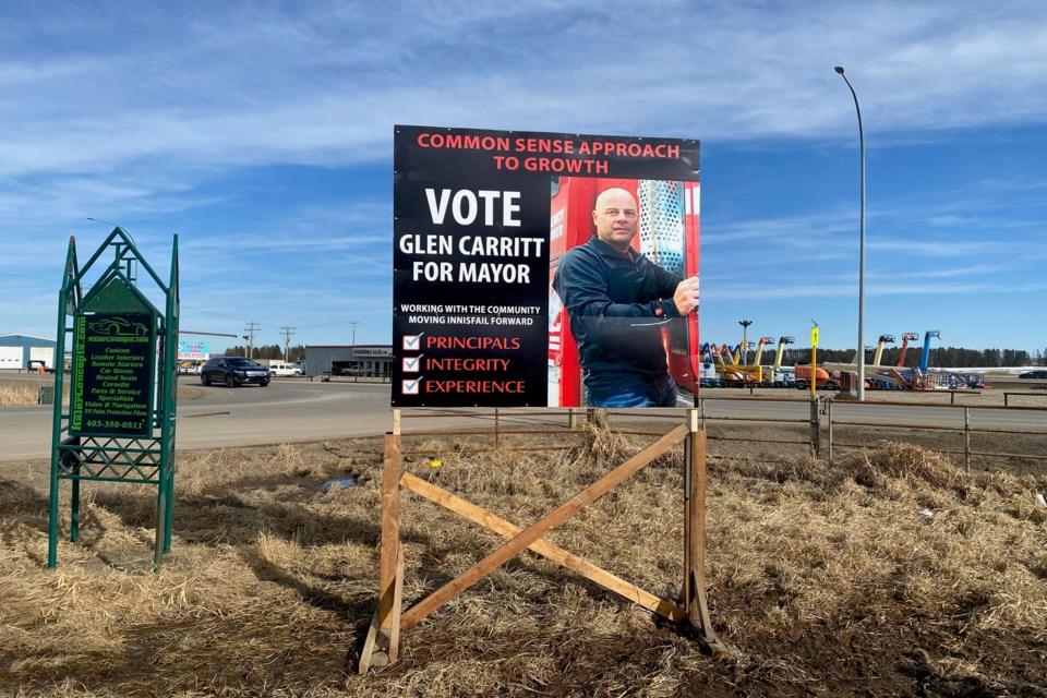 MVP Carritt election sign 1