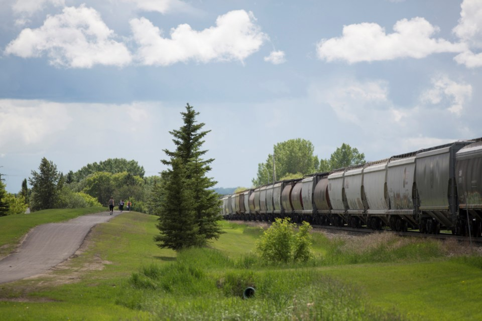 MVP CP rail crossing Innisfail