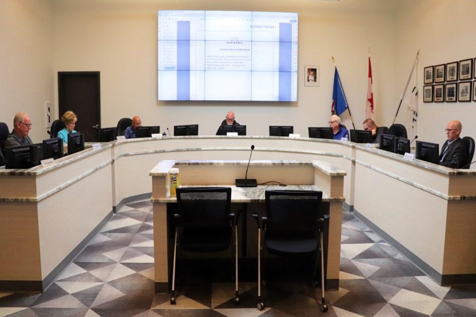 MVP Innisfail council disclosure bylaw