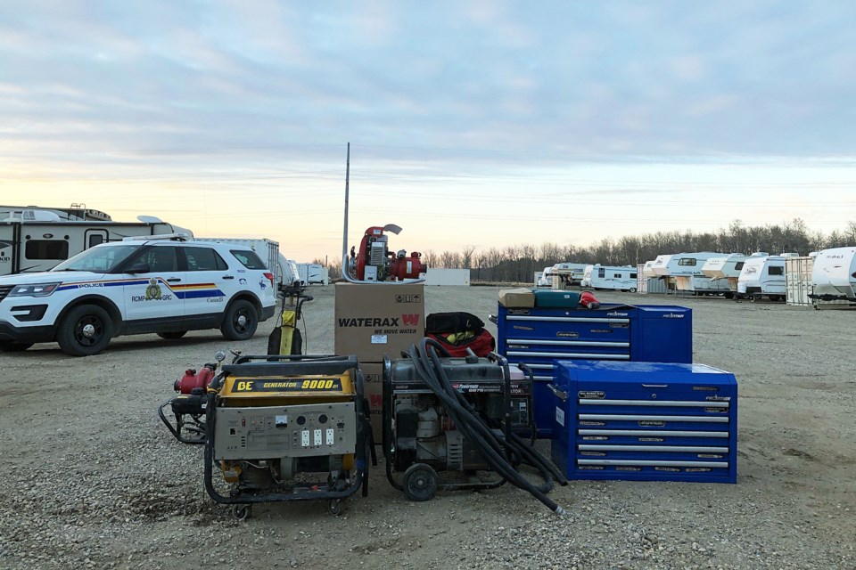 An Innisfail man, along with a Sylvan Lake woman, have been arrested in connection to a series of property crimes in the area over the past month. Photo courtesy of Innisfail RCMP