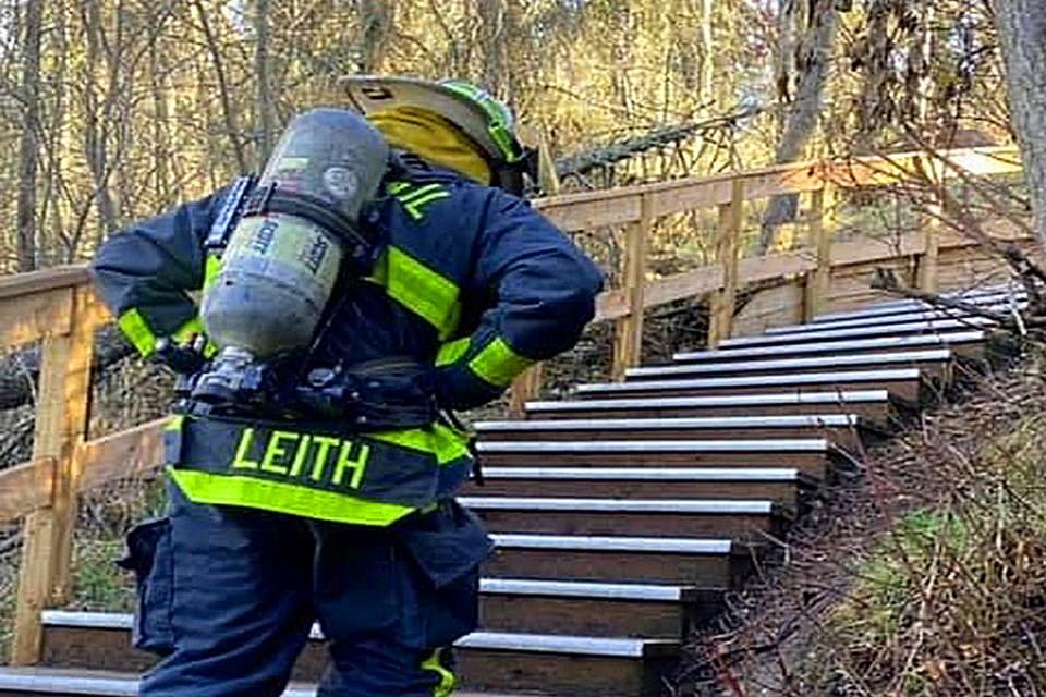 MVP Innisfail fire department stair climb