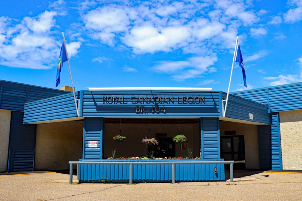 The Innisfail Royal Canadian Legion will be the site for the town's mayoral forum on Sept. 22. File Photo/MVP Staff