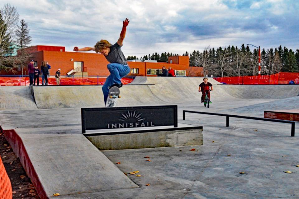 MVP Innisfail skatepark 2020