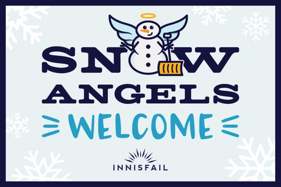 MVP Snow Angels Sign