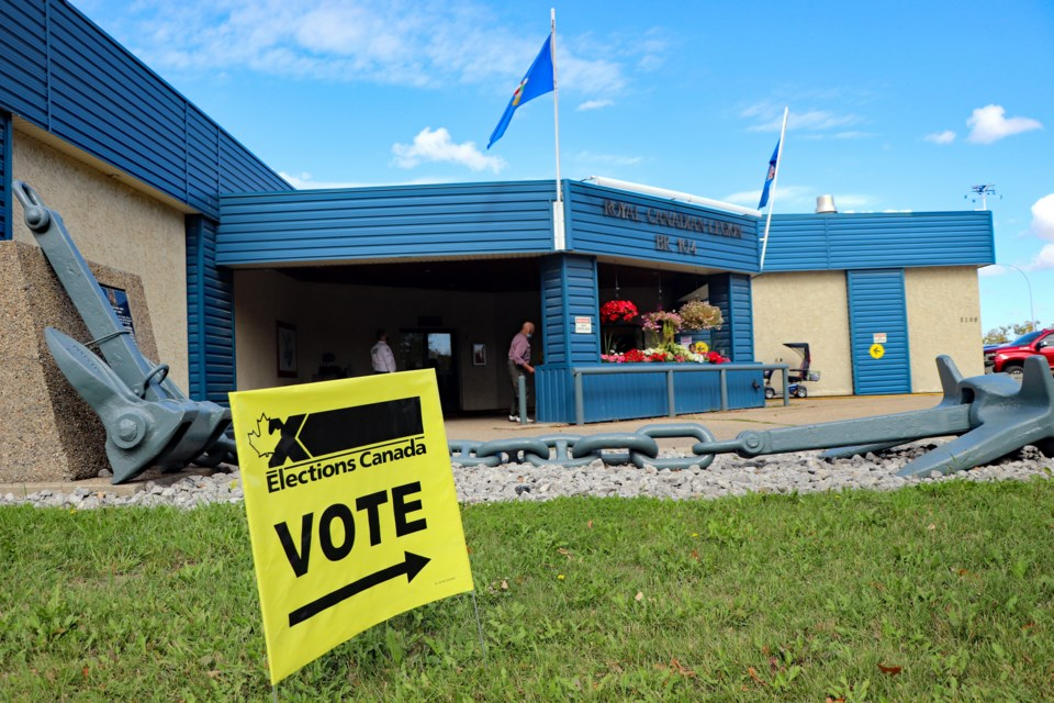 MVT Advanced voted federal election