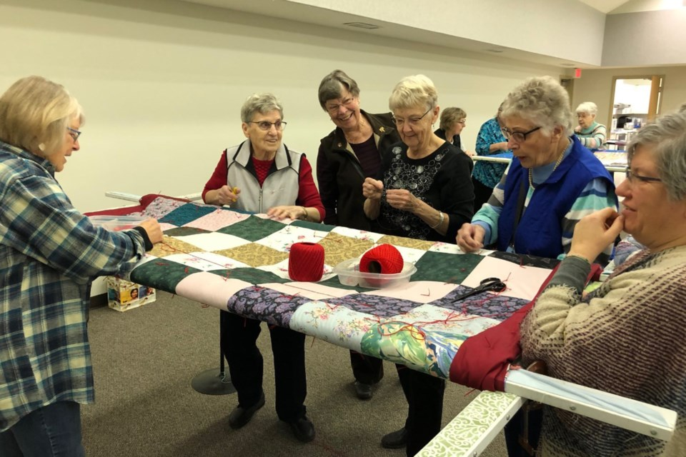 MVT Bergthal Mennonite Church quilters