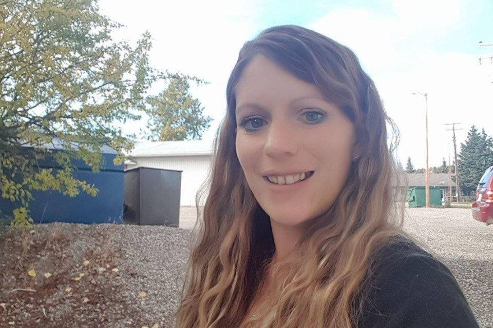 Brenda Ware, 35, who lived near Cremona and worked in Sundre as a hairstylist, is remembered by Candice Bryant, one of her teammates on the Diamond Divas slo-pitch team in Olds, as being a bubbly individual who brought a bright light and positive attitude that others would seek out. Submitted photo