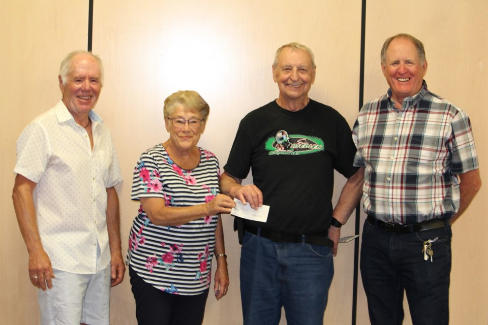 MVT Brent Trottier donation to Carstairs Nature Space