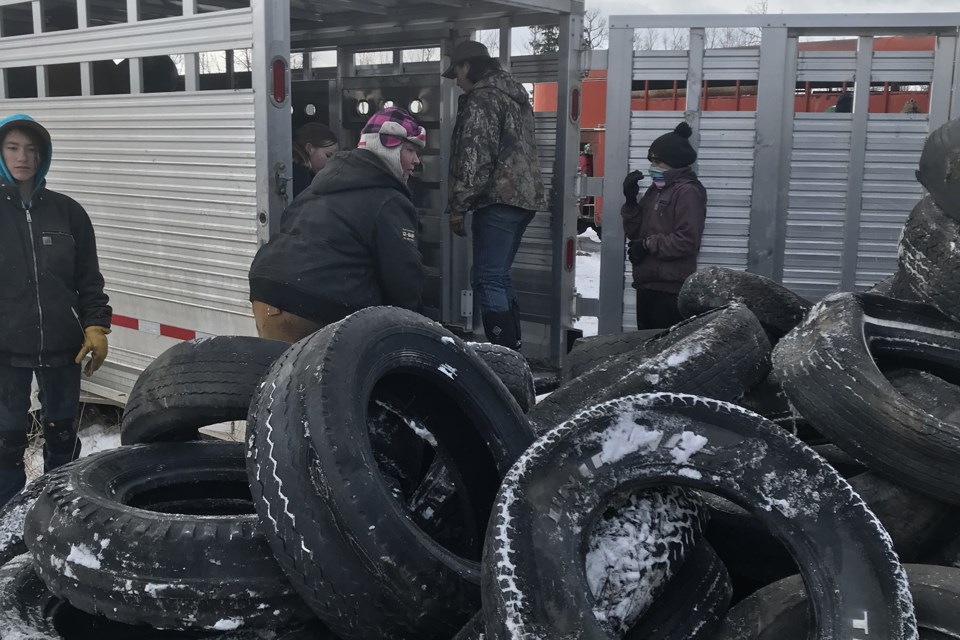 MVT Cremona 4-H tire recycling