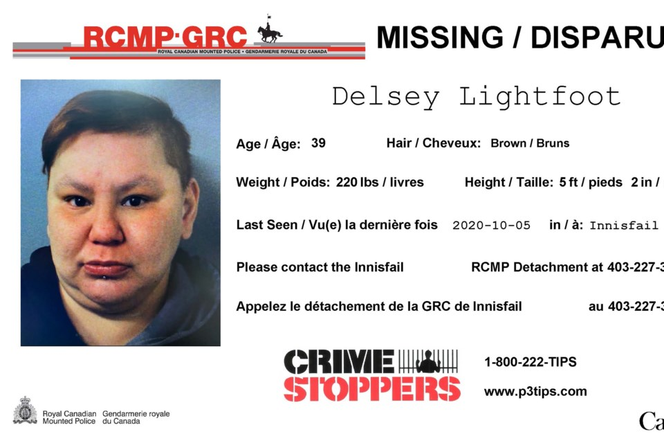 MVT Delsey Lightfoot missing