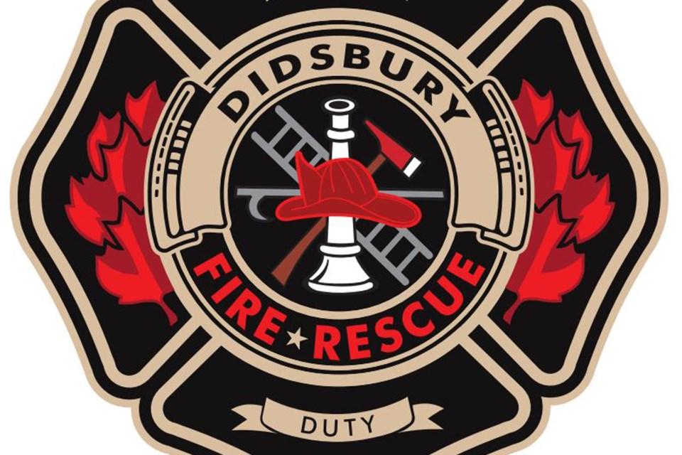 MVT Didsbury Fire Department logo