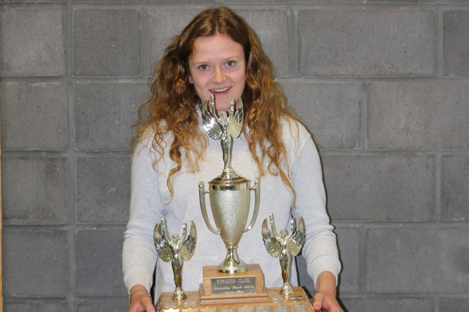 Kiara Longmuir is the 2020 EOHS junior female athlete of the year. Submitted photo