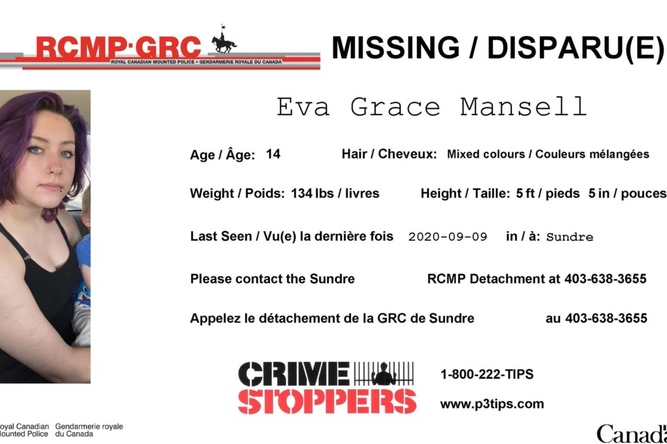 MVT Eva Grace Mansell