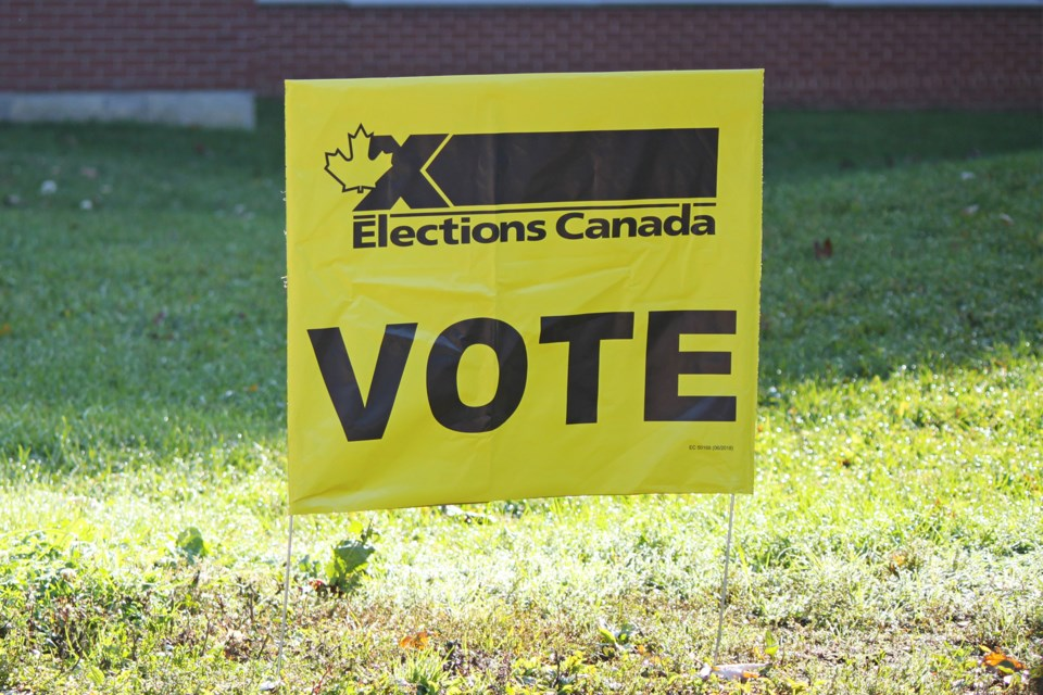 MVT federal election sign