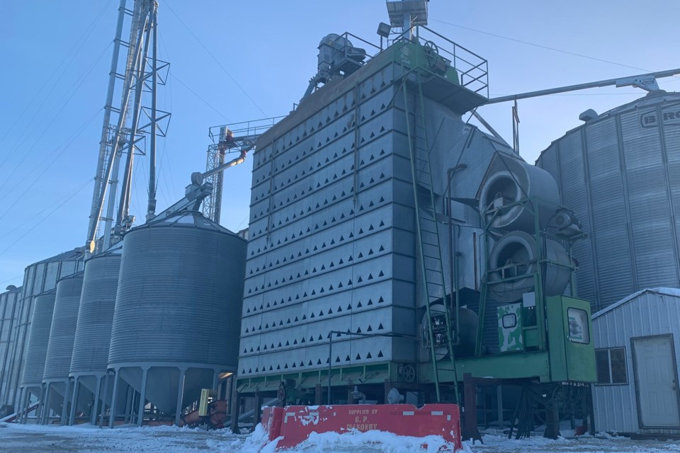 MVT grain dryer