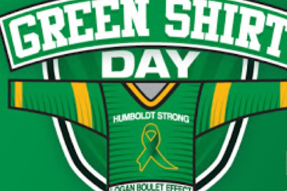 MVT Green Shirt Day logo