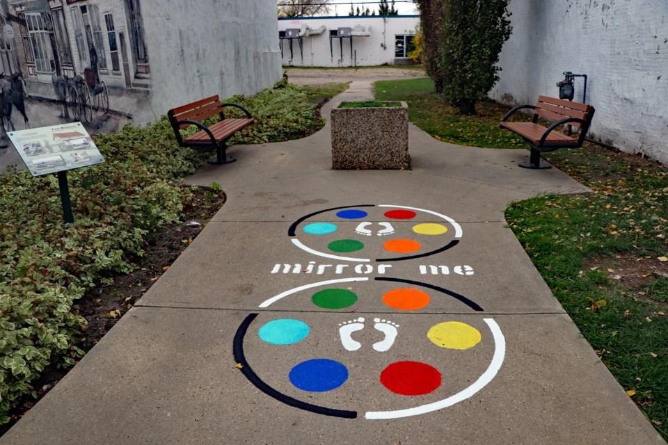 MVT Innisfail sidewalk game