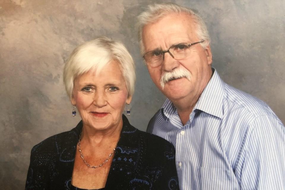 MVT Jodi Bergeron's mom and dad Andy and Marlene Wipf
