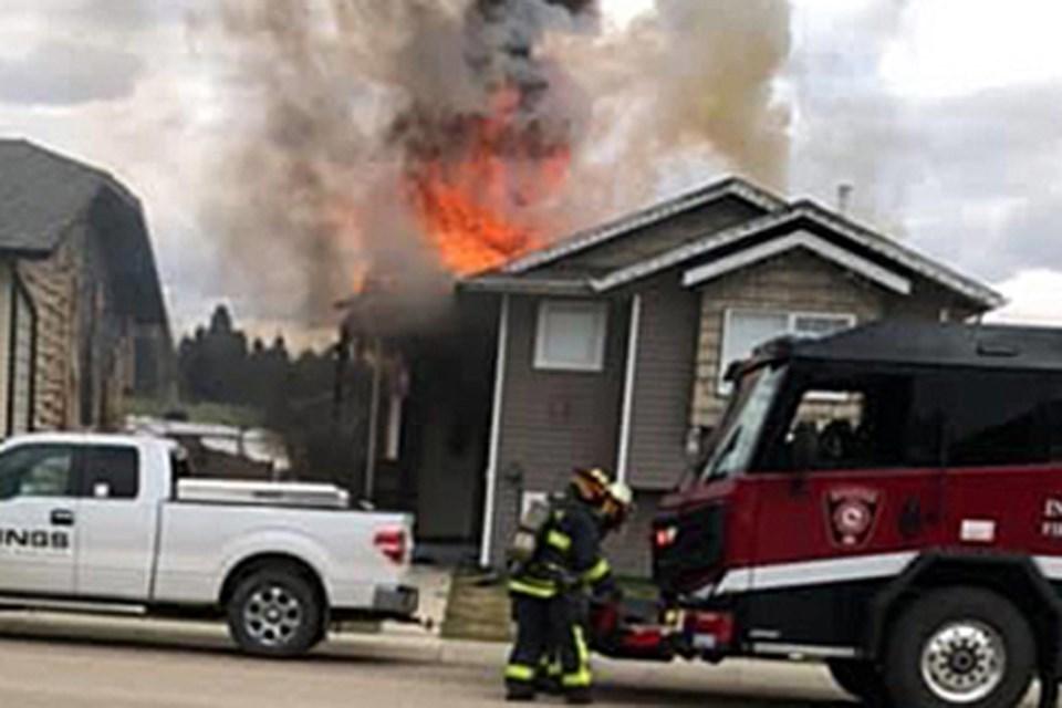 MVT May 10 2020 - Innisfail house fire