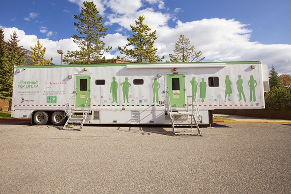 MVT mobile mammography clinic 1