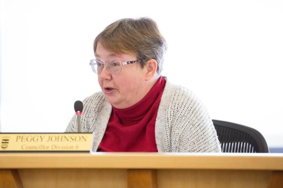 MVT MVC councillor Peggy Johnson