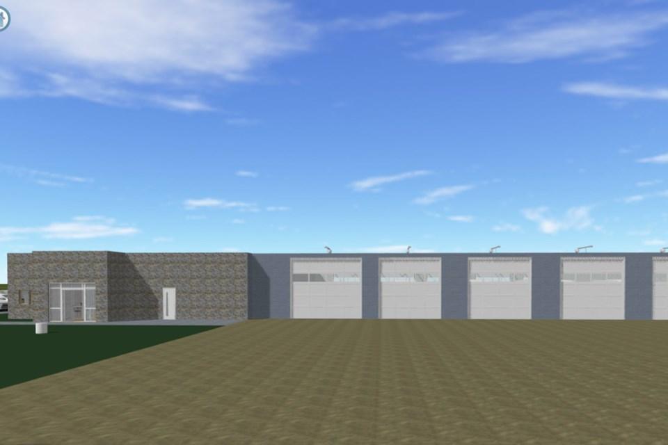 MVT new Carstairs fire hall design
