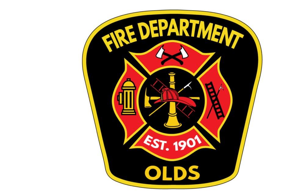 MVT new Olds Fire Department crest
