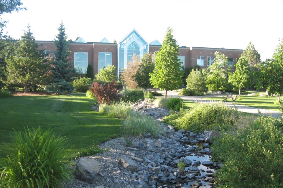 MVT Olds College front building