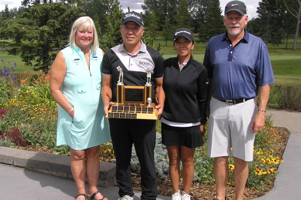 MVT Olds Mixed Open winners
