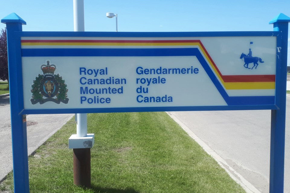 MVT Olds RCMP sign