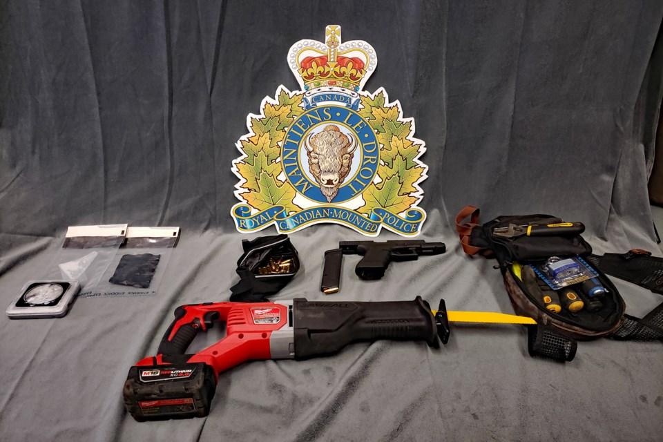 MVT RCMP sleeping man bust
