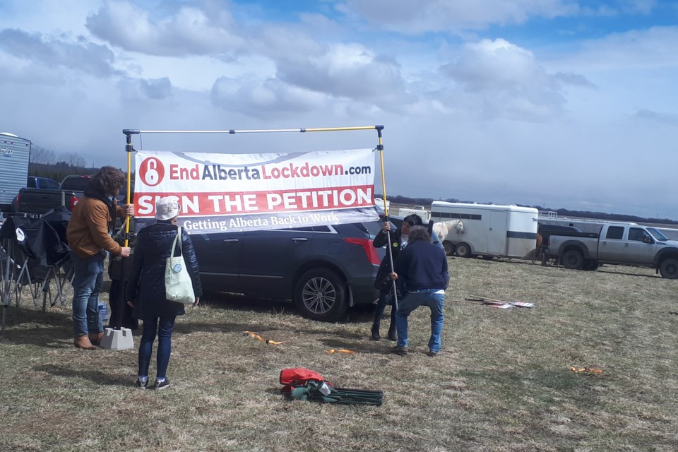 MVT Rodeo rally - sign