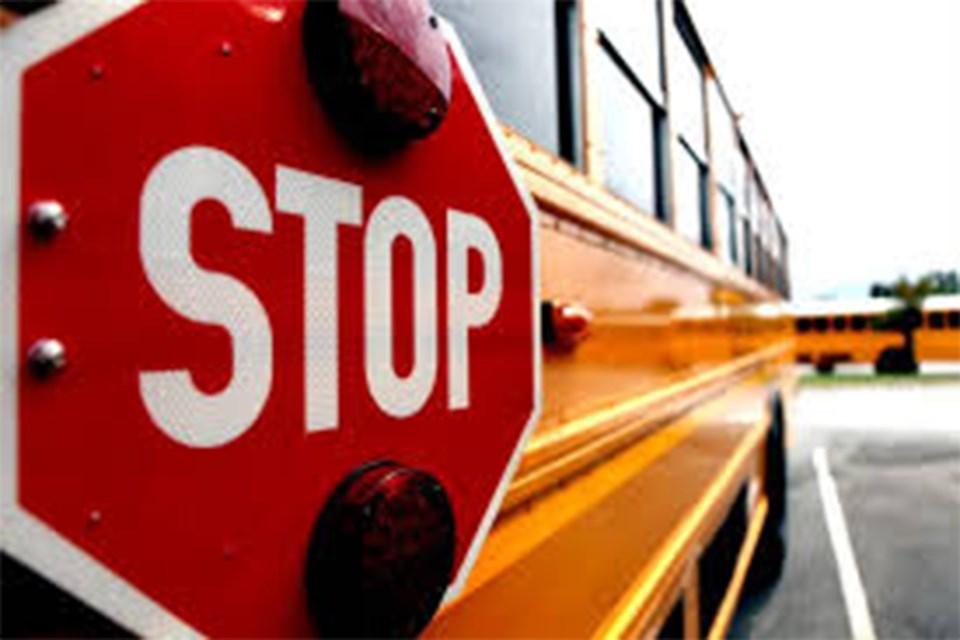 MVT School bus zone
