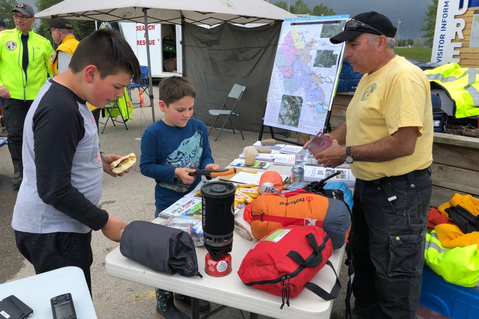 MVT search and rescue talk